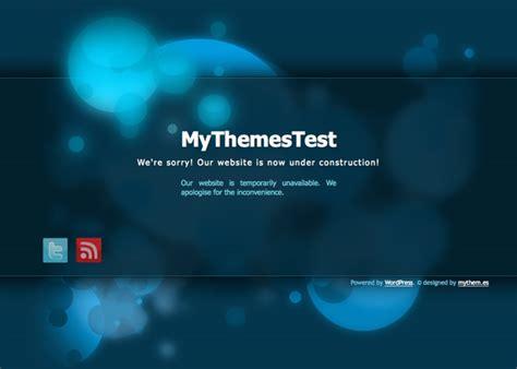 theme wordpress under construction free scriptmafia org gt my blue construction free wordpress