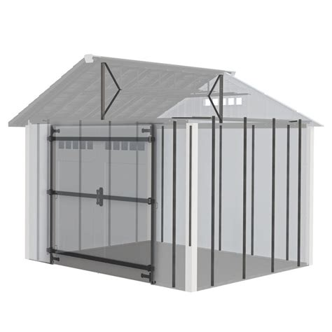bobbs roughneck 174 x large storage shed lowes