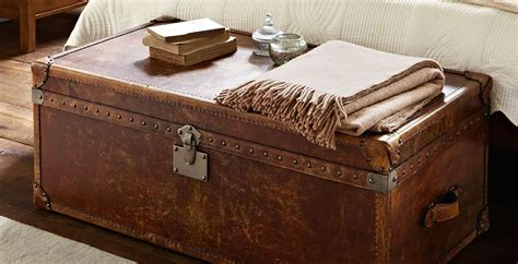 houston end of bed trunk feather black