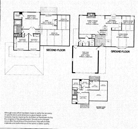 california split floor plan mid century modern and 1970s era ottawa favourite plans