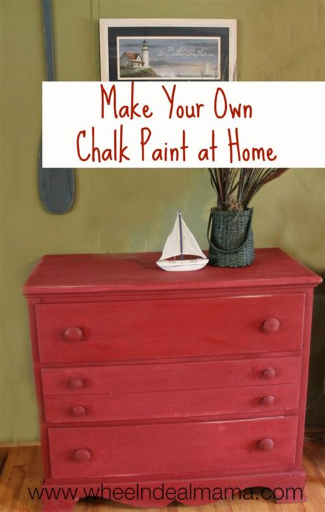 diy chalk paint home hardware make your own chalk paint at home wheel n deal