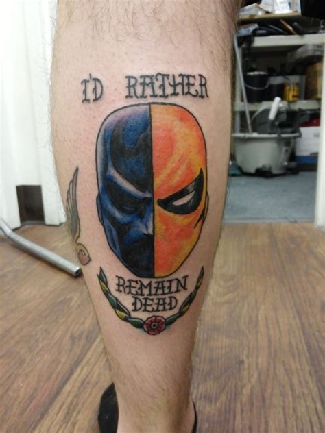 deathstroke done by myself dereck galicia fox amp hound