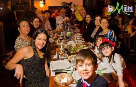 new year family meal family celebrating new year s picture of le milsa