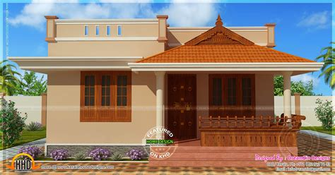small kerala house designs small house single storied in 1150 square feet kerala home design and floor plans