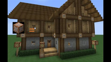 modernes haus minecraft command instant house in minecraft no mods
