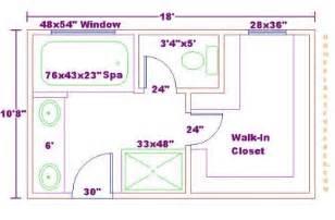 bathroom floor plans with walk in closets click to view size image