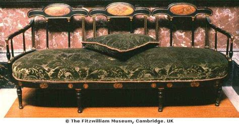 William Morris Sofa by Pre Raphaelite William Morris Sofa