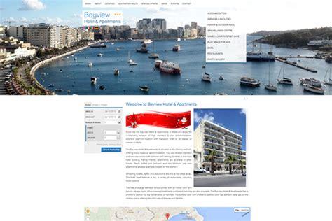 bayview home page bayview hotel abakus web design web development