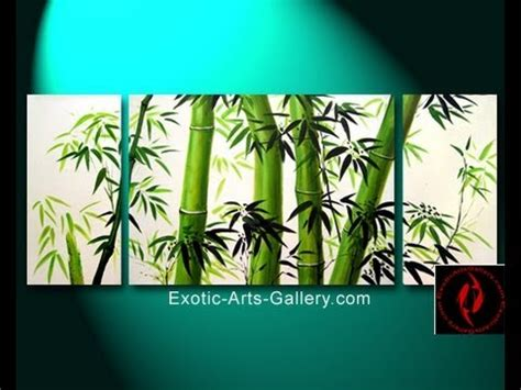 feng shui painting feng shui bamboo paintings youtube
