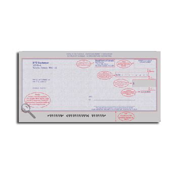 Canadian Background Check Canadian Checks Canadian Check Format Canadian Laser Checks Canadian Cheque