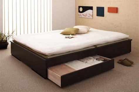 Futon Net by モダンデザインヘッドレス畳収納ベッドを安く購入するなら ふかふか布団