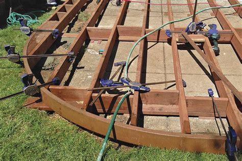building curved decks professional deck builder design