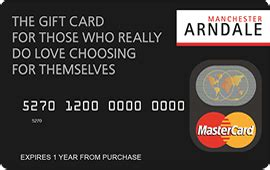 Manchester Arndale Gift Card - manchester arndale gift vouchers gift cards and gift certificates flex e card