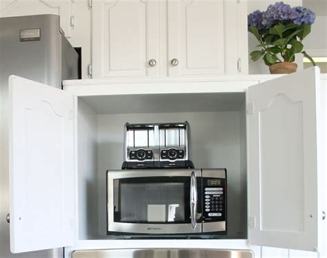 inexpensive kitchen appliances appliance garage aka happiness for clutter phobes