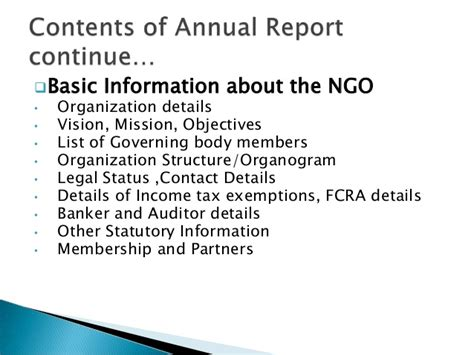 ngo report writing sle how to write an annual report for an ngo