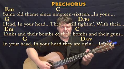 zombie fingerstyle tutorial zombie the cranberries fingerstyle guitar cover lesson