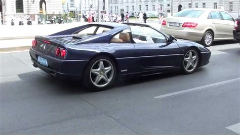 f355 acceleration blue f355 berlinetta sound and acceleration in