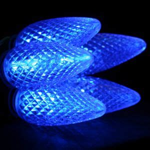 blue c9 led christmas light bulbs