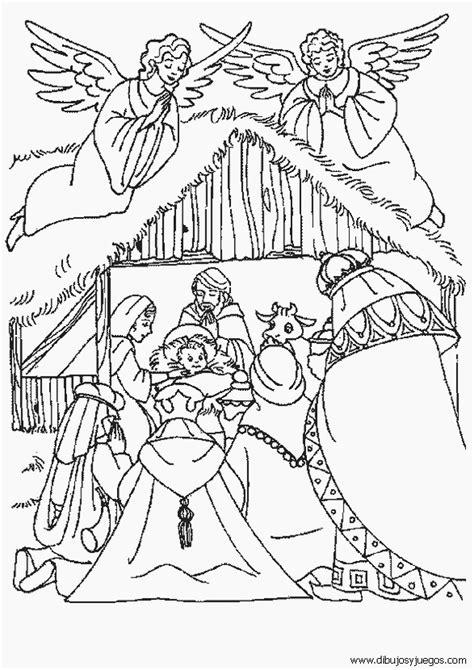 imagenes de el nacimiento de jesus para imprimir dibujo de nacimiento de jesus nazaret 012 dibujos y