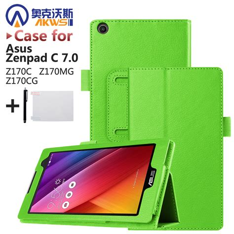 Flipcase Tab Asus Zenpad C Z170cg Flipcover Leather Cover picture more detailed picture about magnet leather cover stand for asus
