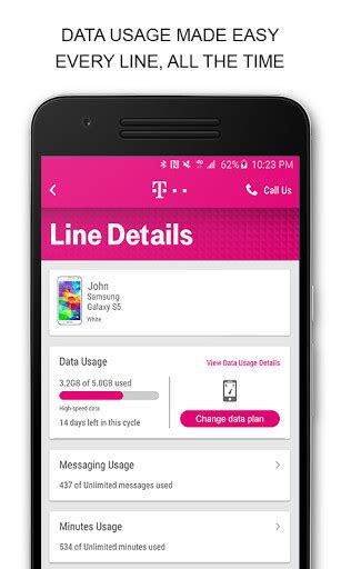 my three mobile account t mobile my account for android free