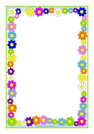 frame design for microsoft word spring page borders for microsoft word google search 1