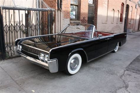63 lincoln continental convertible 1962 lincoln continental convertible low factory