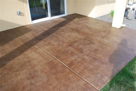 25 best ideas about stain concrete on acid