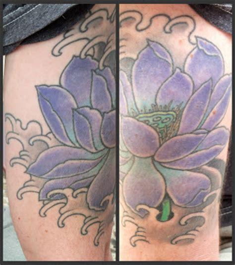 lotus tattoo columbia sc tattoosday a tattoo blog two for tattoosday a purple