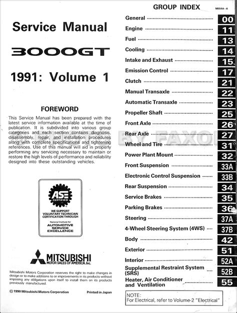 1992 eagle premier workshop manuals free pdf download 3000gt manual mitsubishi service free software and