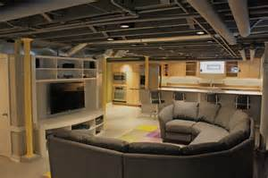 cost to paint a ceiling contemporary basement remodel contemporary basement