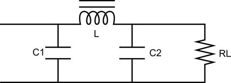 filter circuit using capacitor and inductor capacitor input filter