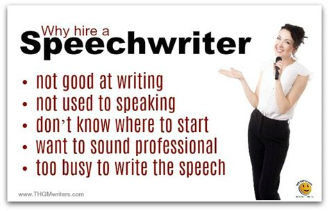 Writers Talk About Writing All Day by Professional Speech Writing Services Thgm Writers
