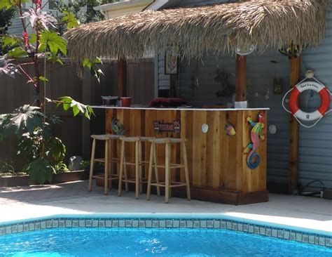 Pin By Brenda Moyle On Tiki Bars Pinterest Backyard Tiki Bar Ideas