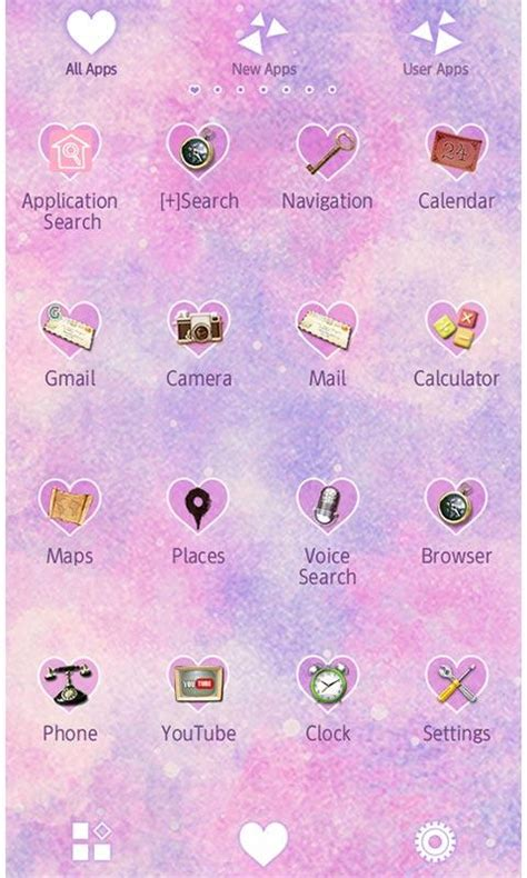 theme google pastel cute theme pastel tribal android apps on google play