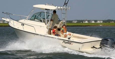 parker cuddy cabin boats sale parker 23 walkaround fishing boat done kiss boats