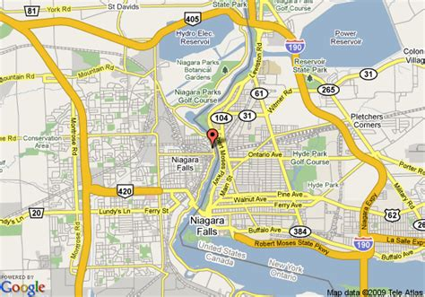niagara falls hotels canada map related keywords suggestions for niagara map