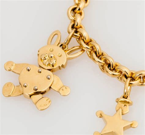 pomellato charms pomellato gold charm bracelet at 1stdibs