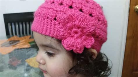 crochet gorros tejidos de gancho para nina sandalias tejidas a crochet como tejer gorro en crochet para ni 241 as youtube