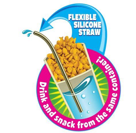 Nuby Snack N Sip Straw Sippy Cup nuby 1pk snack n sip 2 in 1 snack and drink