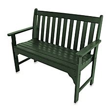 polywood vineyard bench polywood 174 vineyard bench bed bath beyond