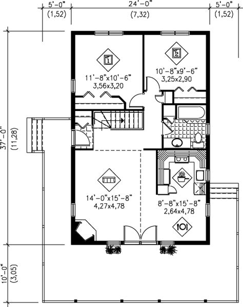 house plan 888 13 beach style house plan 2 beds 1 00 baths 888 sq ft plan