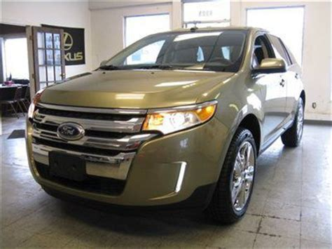 2013 ford edge warranty purchase used 2013 ford edge limited awd f warranty 2012
