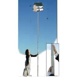 telescopic pole for purple martin house model qtp