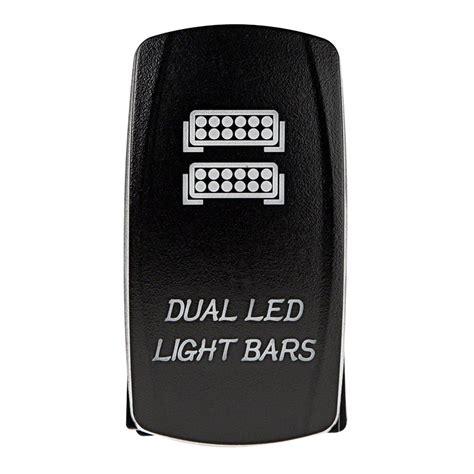 Led Light Bar Switch Weatherproof Led Rocker Switch Dual Led Light Bars Switch Rocker Switches Switches Relays
