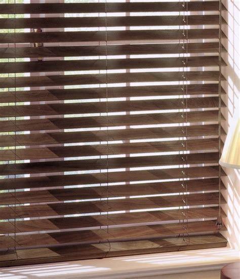 Wooden Slat Blinds Premier Walnut Basswood Venetian Blinds In 15 Widths 35mm Slat
