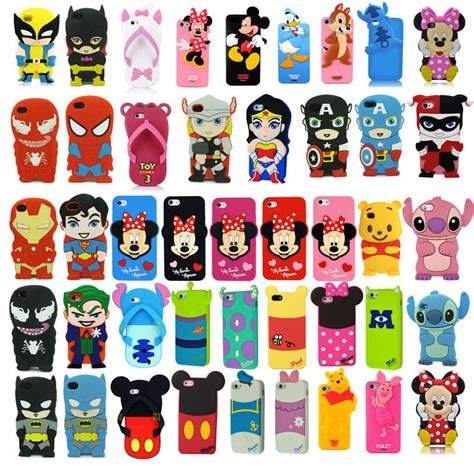 Disney Characters F0361 Samsung Galaxy S7 Edge Custom Cov 3d soft silicone rubber cover for