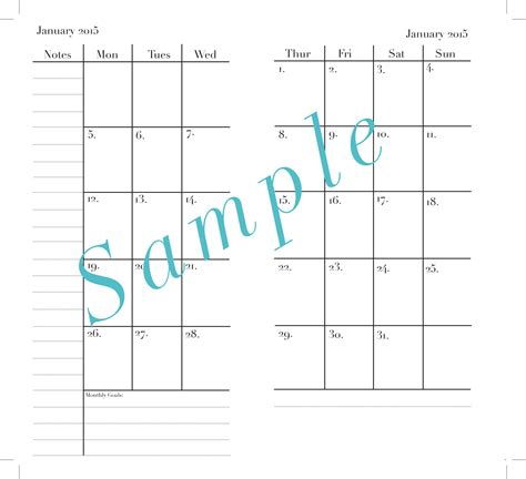 calendar template with room for notes 2014 calendar with room to write autos post