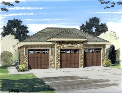 Prefab Garages With Apartment garage plan 44060 at familyhomeplans com