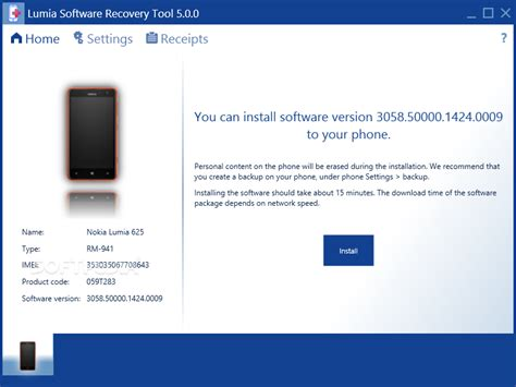 nokia reset software lumia software recovery tool ver 5 0 0 free download here